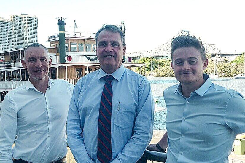Alex Whitlock, Phil Ryan, Dave Stratford