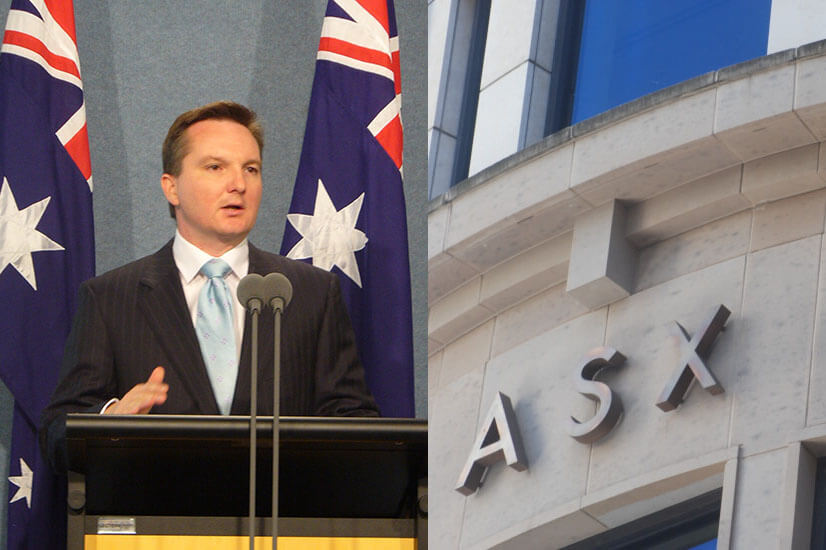 Chris Bowen and ASX