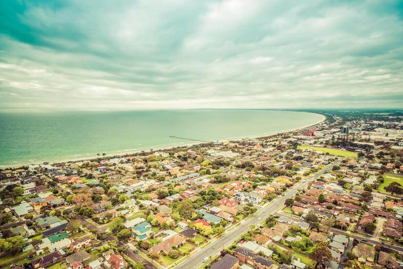 beach suburbs aerial cityscape ato luxury property developer ato clampdown
