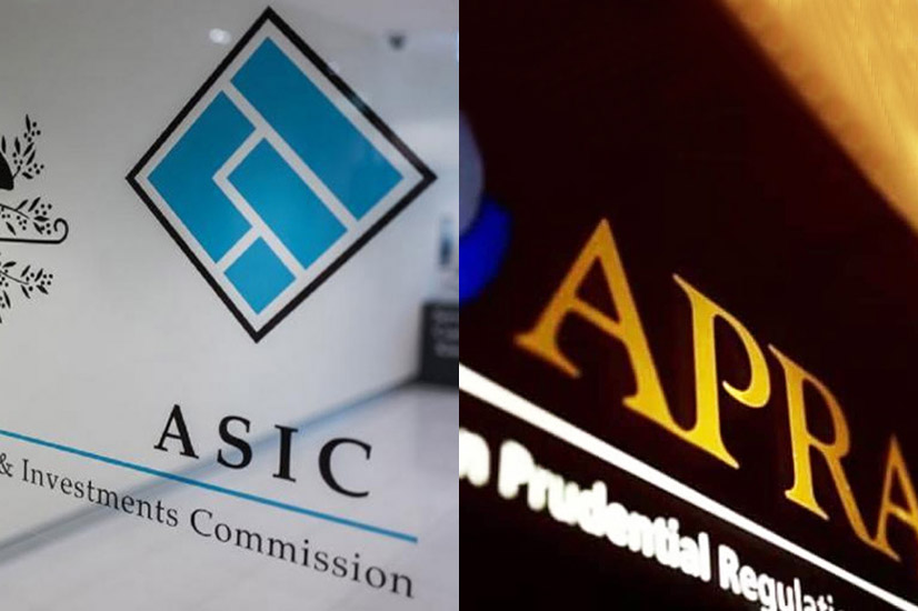 ASIC and APRA