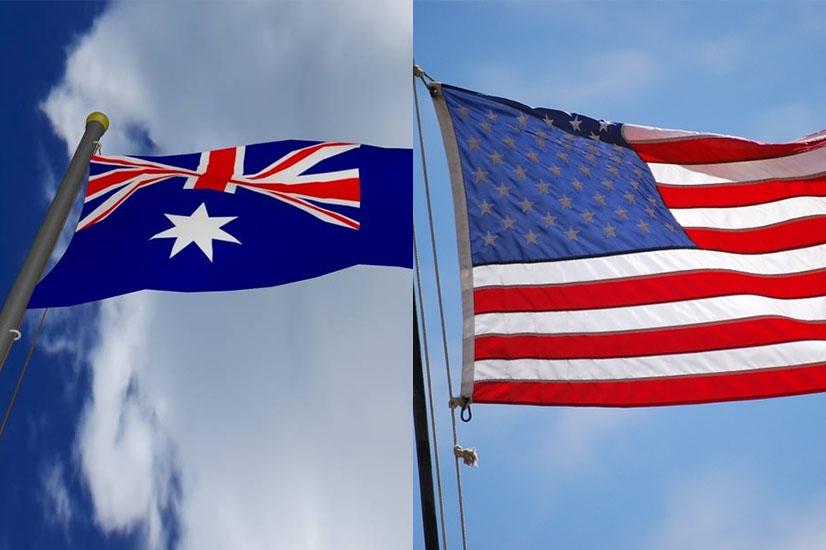Australia and USA