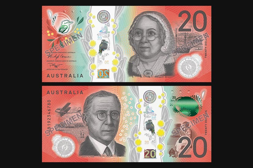 New Australian $20 banknote design