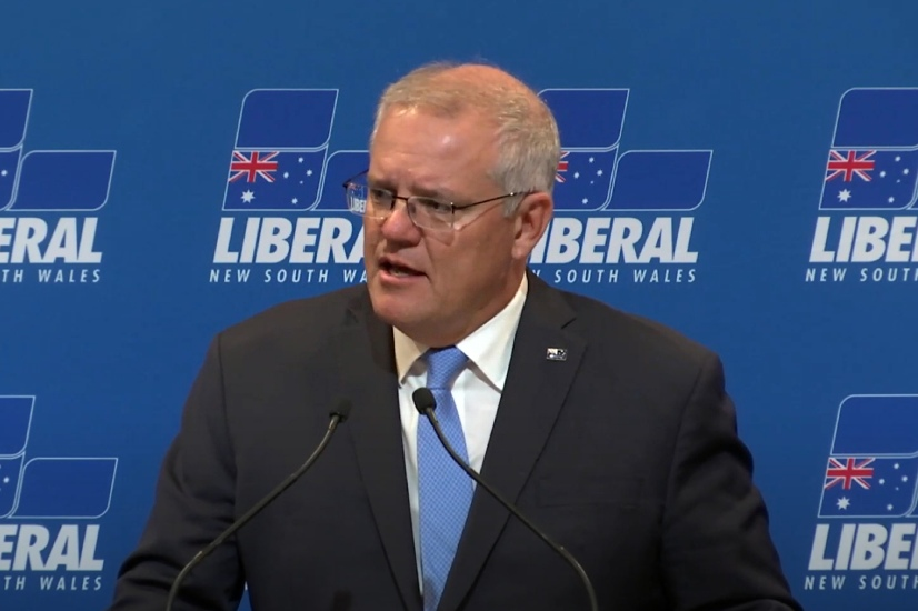 Morrison's claims of greenhouse emissions falling are 'misleading'