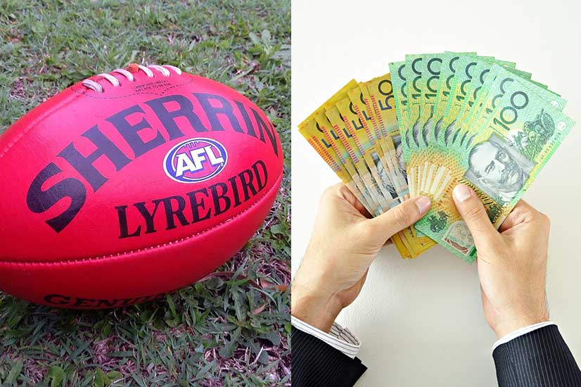 AFL and Australian dollars