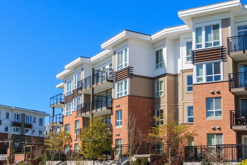 Apartment market shows signs of recovery