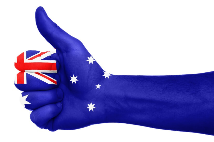 Australia, thumbs up, Aussie's trust