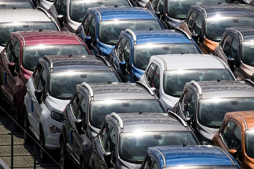 Random cars parked
