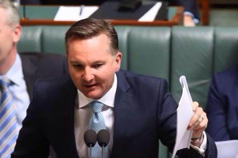 chris bowen labor diy super investors franking credit refunds