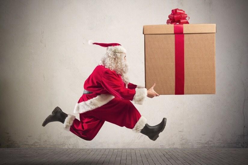 Christmas day, season of giving, Santa Claus