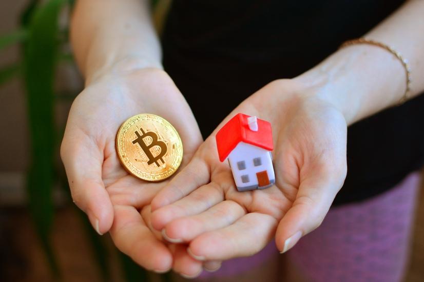 crypto property market