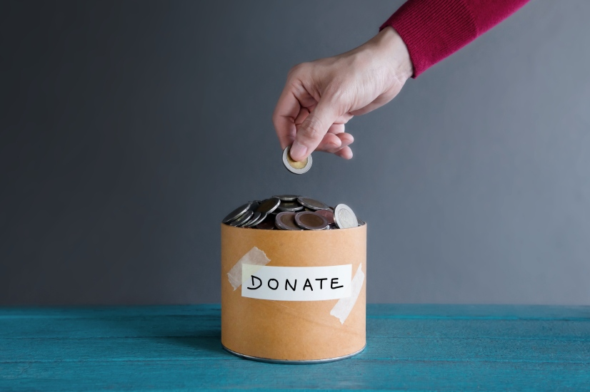 check your donations