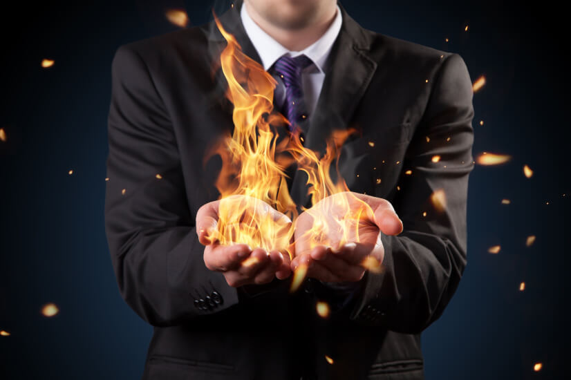 Fire, man, treasury's income product plans