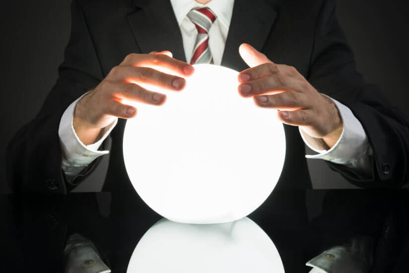 Predicting future, crystal ball for wealth goals