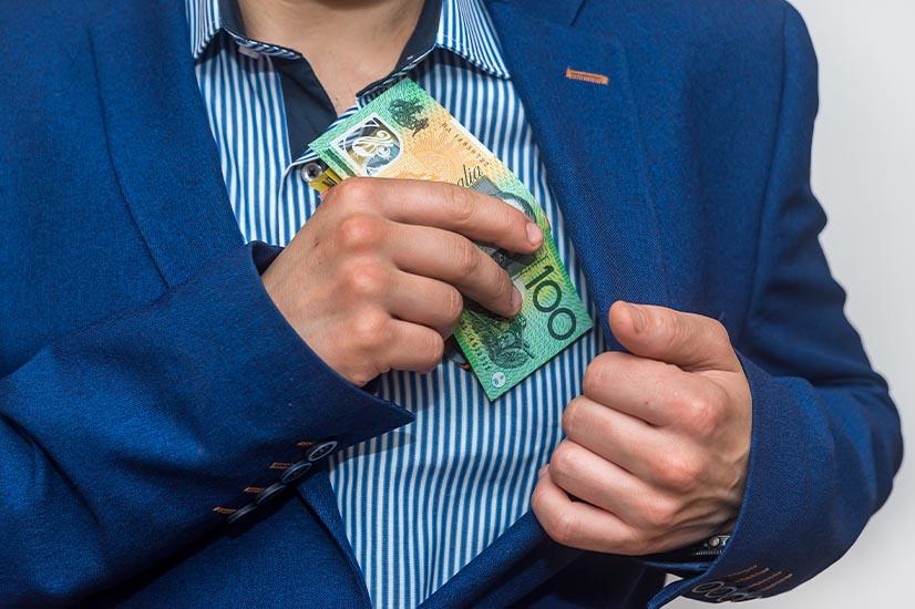 Behaviour lands bankrupt Victorian with criminal record