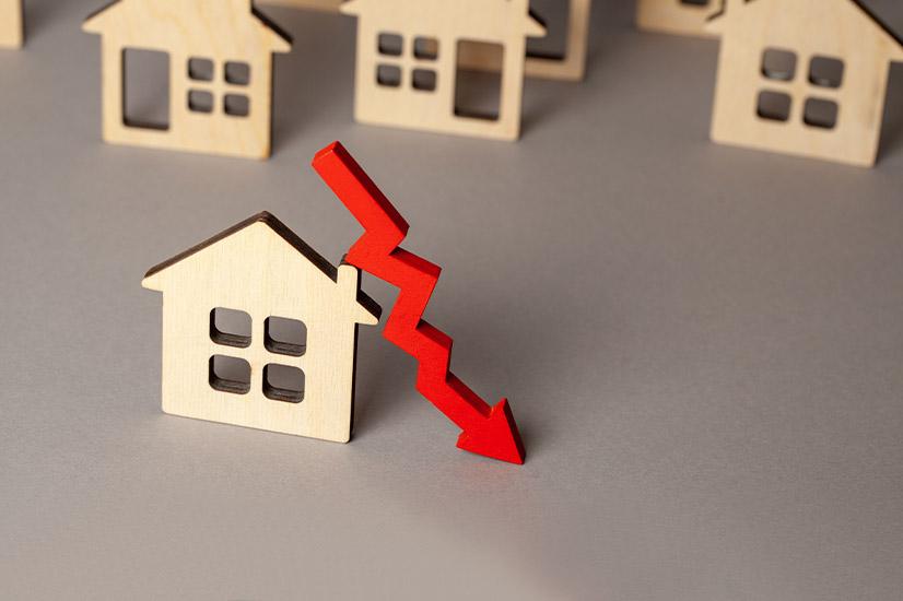 Home loan decline