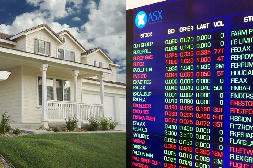 Investment property v stocks