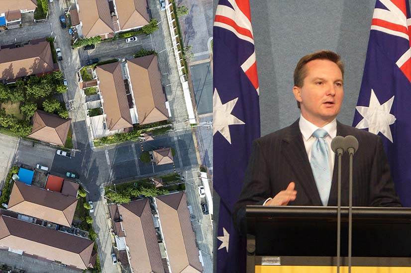 Houses and Chris Bowen