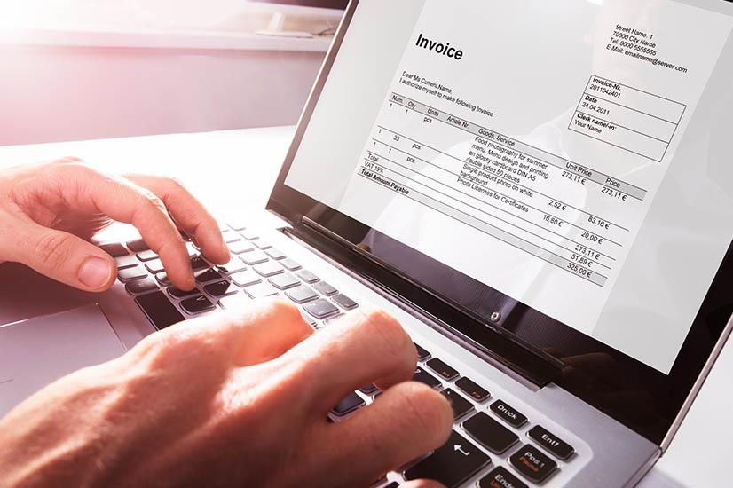 Freelancing invoice