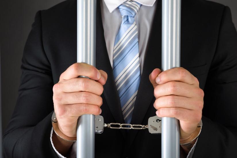 Jail handcuffs