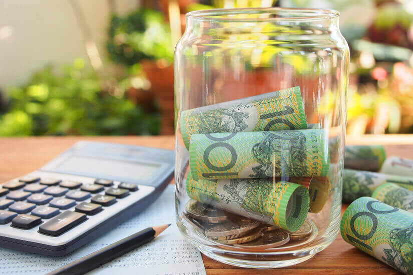 budget, cash on a jar, baby boomer budget, money, cash