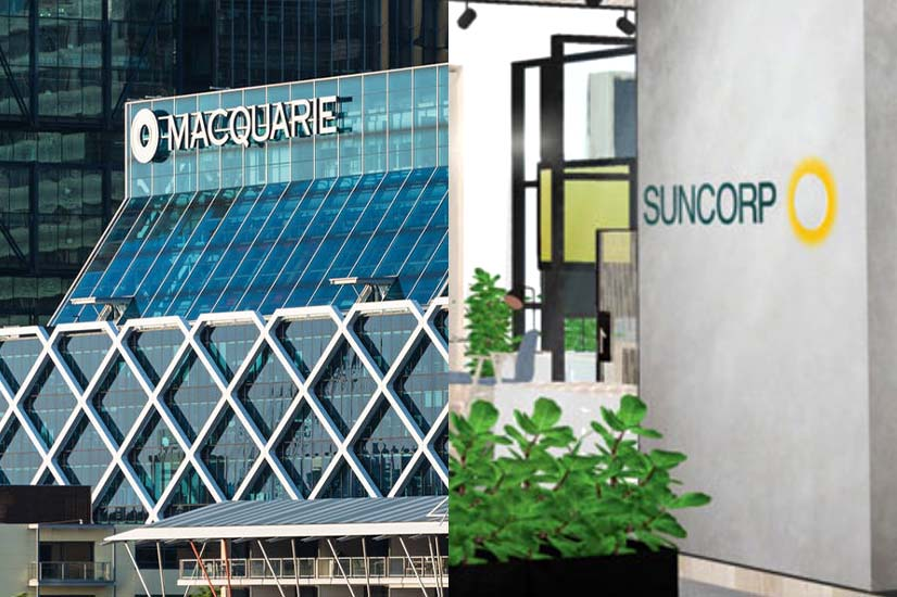 Macquarie Bank and Suncorp