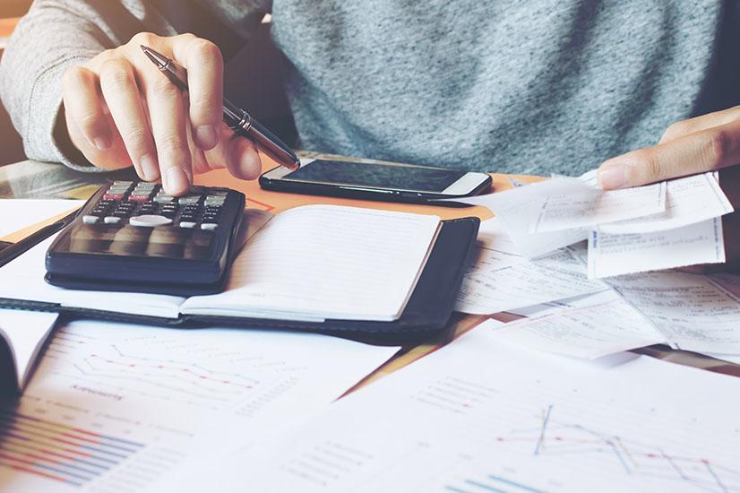accountant tax receipt