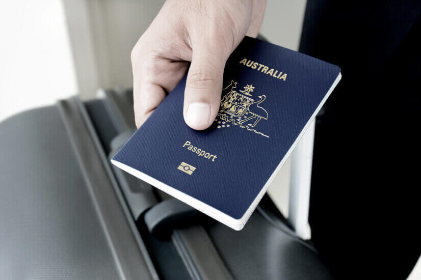 australian passport blue passport immigration migration effect on ageing population