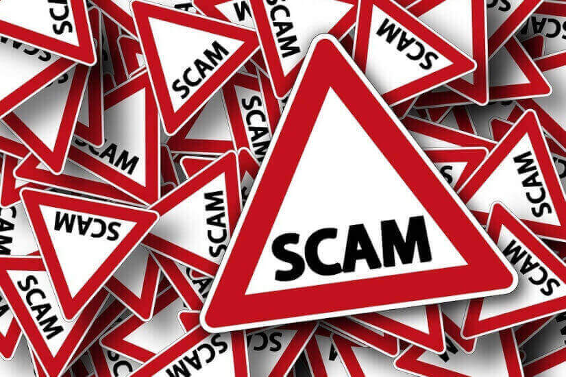 Scam, beware of scammers,