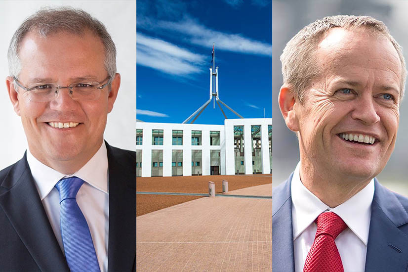 Scott Morrison, Parliament and Bill Shorten