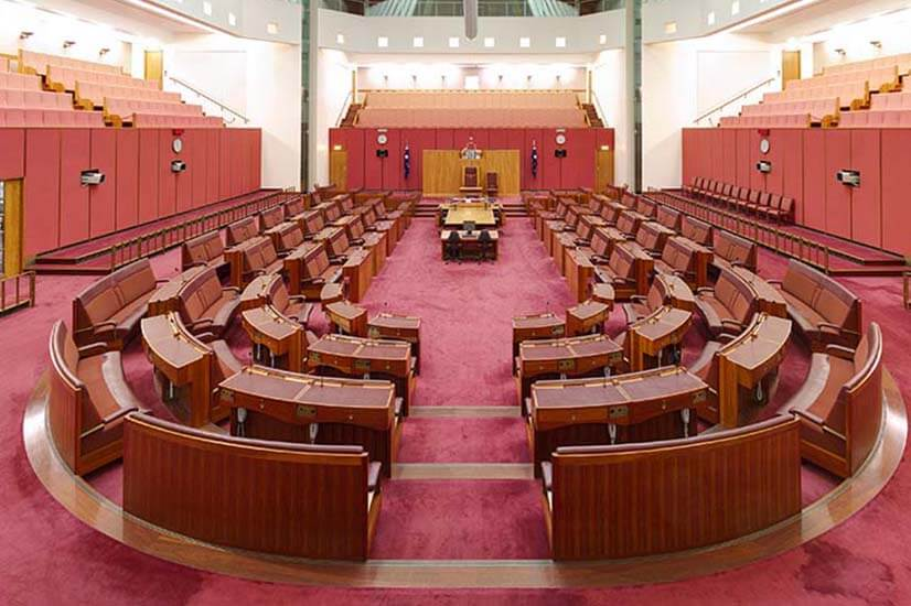 australian senate room government heat 2019 smsf