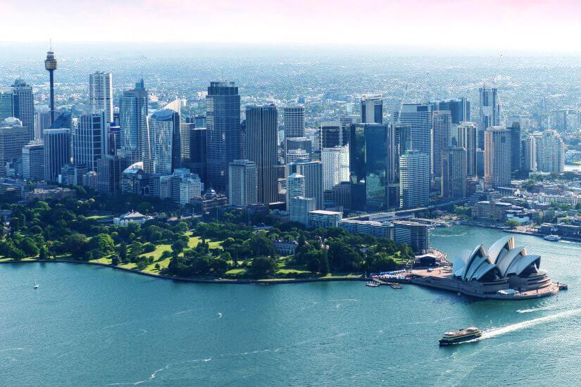 sydney cityscape property growth hotspots market downturn
