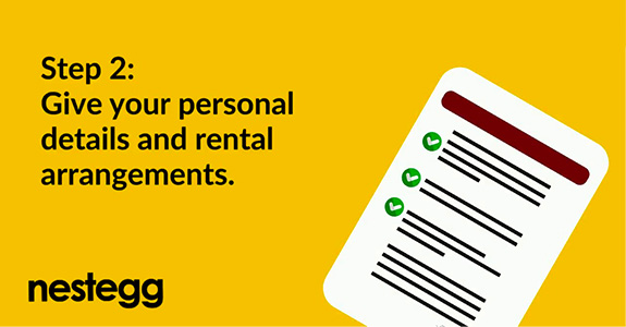 How to request rent changes