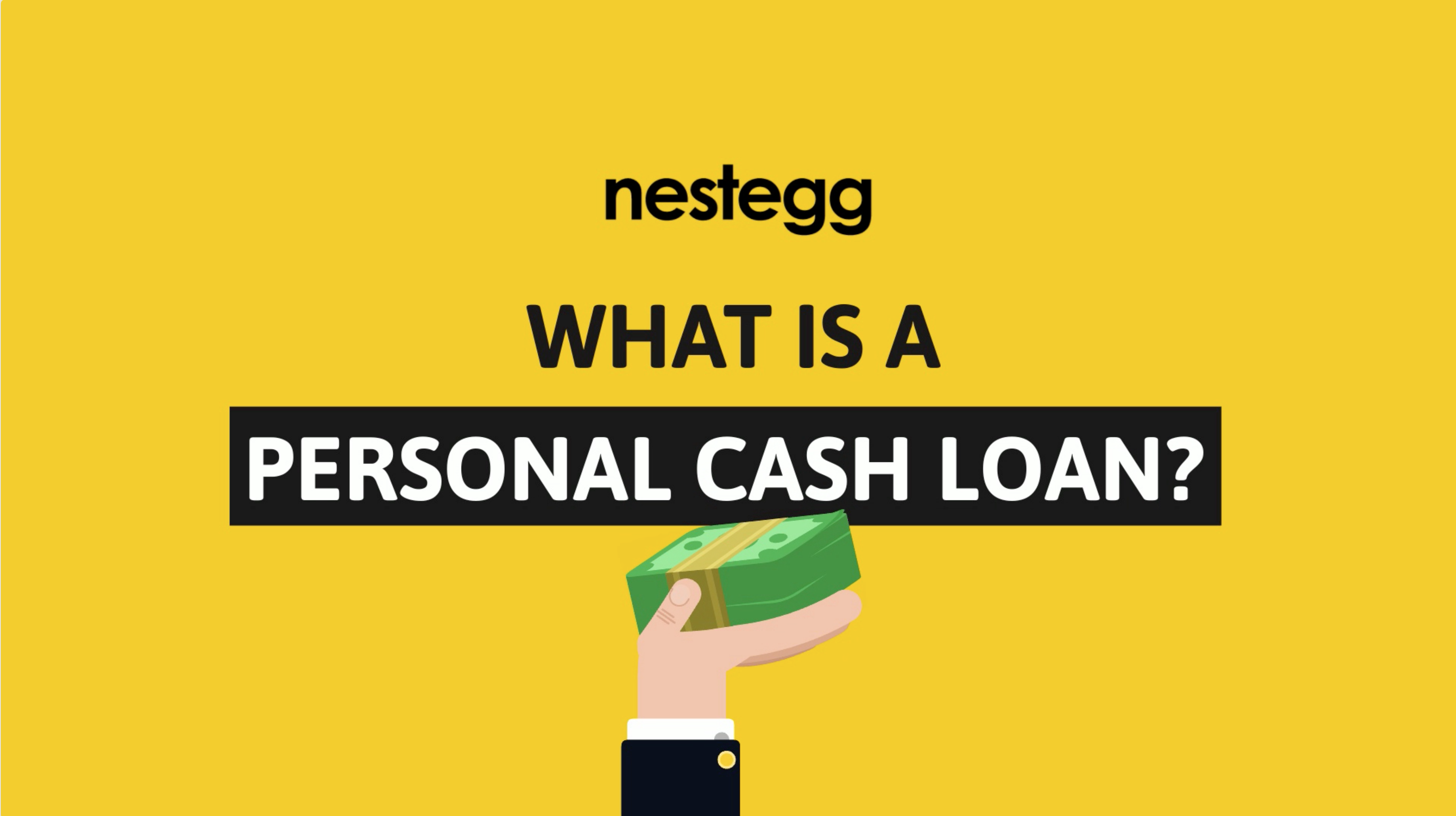 What is a personal cash loan?