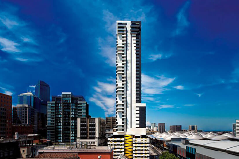 opal tower neo200 building fire alarm investors