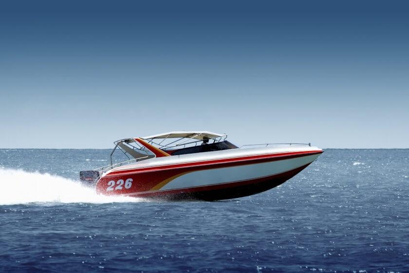 fast speedboat