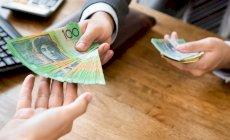 How much is the average Australian earning