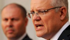 Scott Morrison and Josh Frydenberg