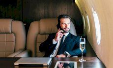 CEO in first class