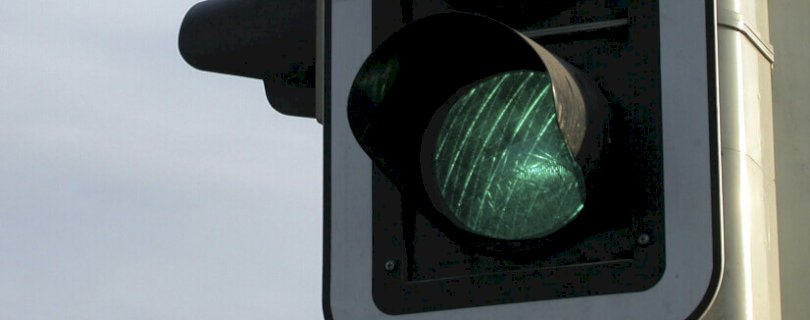 Green light, go signal