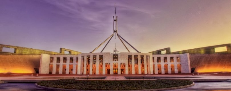 australian parliament house at sunset best in show proposal super industry controversy