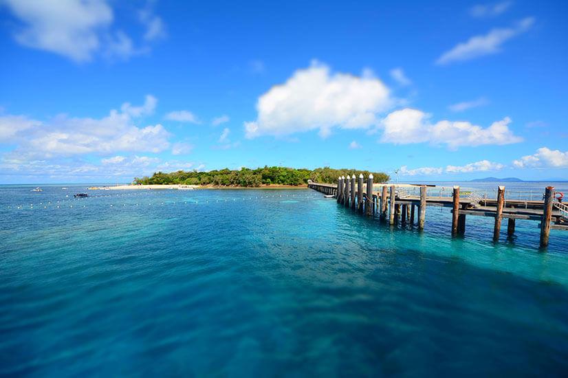 coastal island pier landscape cairns coastal town investors shun